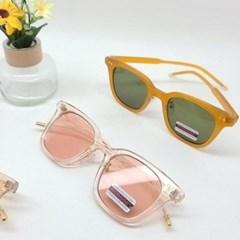 사각 브라운 핑크 도수없는 가벼운 데일리 선글라스