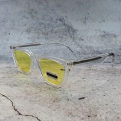 사각 블랙 가벼운 도수없는 데일리 패션 선글라스