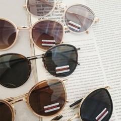 투명 둥근 가벼운 도수없는 데일리 패션 선글라스