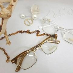 반테 사각 가벼운 도수없는 블랙 투명 패션 안경