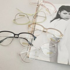 반테 기본 심플 UV400 도수없는 가벼운 데일리 안경