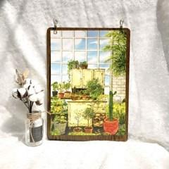 [A3 포스터, 캔버스액자] 오래된 정원