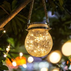 제이픽스 태양열 LED 항아리 조명 인테리어 무드등 정원등