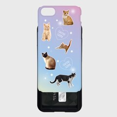 cat love 카드슬라이드 케이스_(1032088)