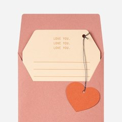 Message card - LOVE YOU