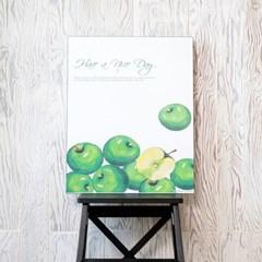 제이픽스 아트 갤러리 접이식 테이블 좌식 밥상 600 - 애플