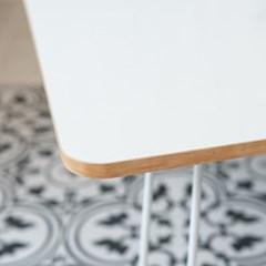 제이픽스 우드 접이식 테이블 좌식 밥상 900 - 화이트