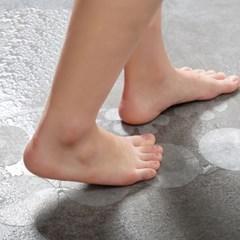 바닥 미끄럼방지 투명 스티커 24p 화장실 논슬립패드