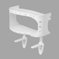 홈슨 투웨이 변기선반 욕실정리 접착식 욕실선반