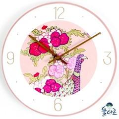 전통 민화 무소음 시계 7종 인테리어 예쁜 벽걸이시계