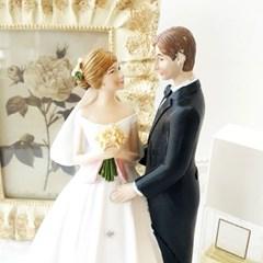 마리 웨딩 인형 커플
