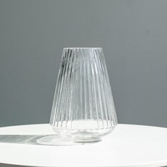 케렌디아 줄무늬 유리 화병