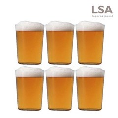 [LSA] 지오 비어글라스 560ml 6P세트 (맥주잔)_(1119579)