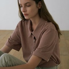 [5/24 예약발송] 루즈 체크 셔츠