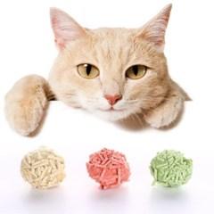 냄새 감소 고양이 두부모래 고운입자 6리터 오리지널 녹차