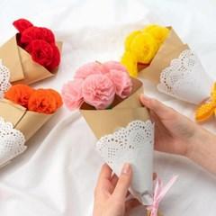율아트 종이 꽃다발 만들기 재료 종이공예
