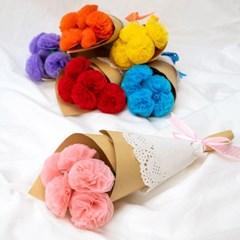 종이꽃 만들기 재료 미니 꽃다발 만들기 종이공예