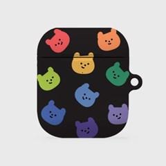 rainbow face gummy [hard 에어팟케이스]_(1036511)