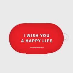 I WISH YOU A HAPPY LIFE 갤럭시 버즈케이스_(1036491)