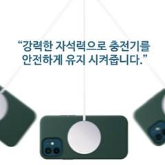 인커버 맥세이프 실리콘 폰케이스/카드지갑/아이폰12 미니/프로/맥스