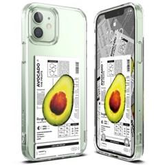 아이폰12/프로/프로 맥스 투명 케이스 링케퓨전 과일 디자인