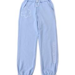 [EZwithPIECE] DAISY SWEAT PANTS (SKY BLUE)_(401264796)