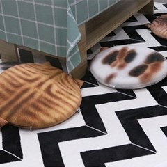 메모리폼 고양이 방석