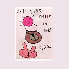 카드-smile is good
