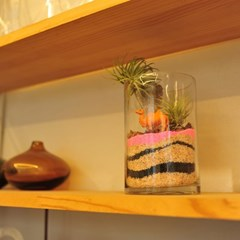 테라리움 DIY키트 핑크사막