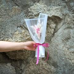 꽃길만 걸으세요 (핑크) 꽃다발