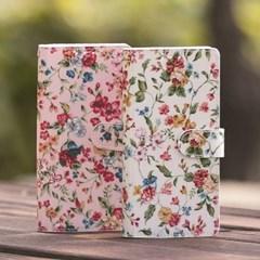아이폰12 12프로 Jardin_Flower 다이어리 지갑케이스