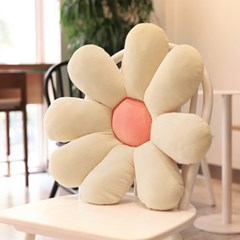 입체 플라워 꽃잎모양 쿠션 방석 꽃쿠션