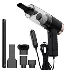소형 휴대용 초강력 차량용 청소기 4500Pa 5종세트