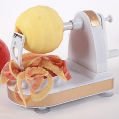 자동 과일깎이 깍기 사과깍기 기계 애플필러 (오렌지칼 추가)