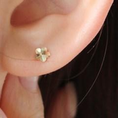 14K 꽃 귀걸이