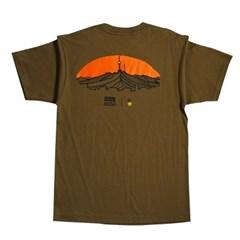 한국의 산 티셔츠 시리즈 남산 올리브