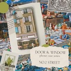 DOOR & WINDOW phone case - street 무광 하드 폰케이스