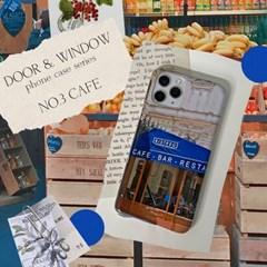 DOOR & WINDOW phone case - cafe 유광 하드 폰케이스