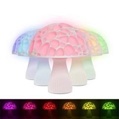 3D입체 16색 LED 버섯무드등 버섯램프 수면등 15cm