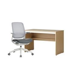한샘 샘 책상 120cm 일반형(시공)+티오25 책상의자 DIY