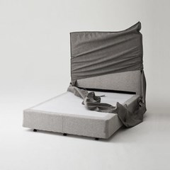 한샘 멜로우 SS 슈퍼싱글 침대+풀커버 (색상 4종)+노뜨컴포트