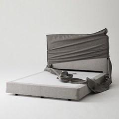 한샘 멜로우 Q 퀸 침대+풀커버 (색상 4종)+노뜨컴포트