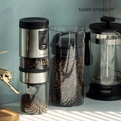 LUMI 전자동 커피 그라인더 스텐세트 S60