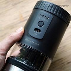 LUMI 전자동 커피 그라인더 블랙 B60