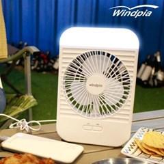 캠핑 선풍기 무선 탁상용 미니 WF-H210