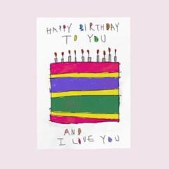 생일카드-케이크