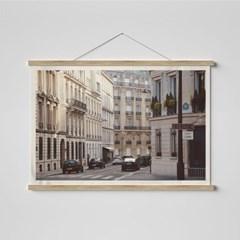 빈티지 필름 패브릭 포스터 _ 파리의 거리