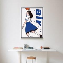 에어 M 유니크 인테리어 디자인 포스터 캐릭터