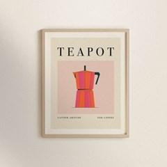 Momo & Teapot - 인테리어 액자 세트 2종 - 북유럽 인테리어