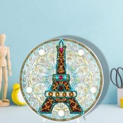 에펠 탑 DIY 비즈 십자수 무드등 어린이 보석십자수_(2568288)